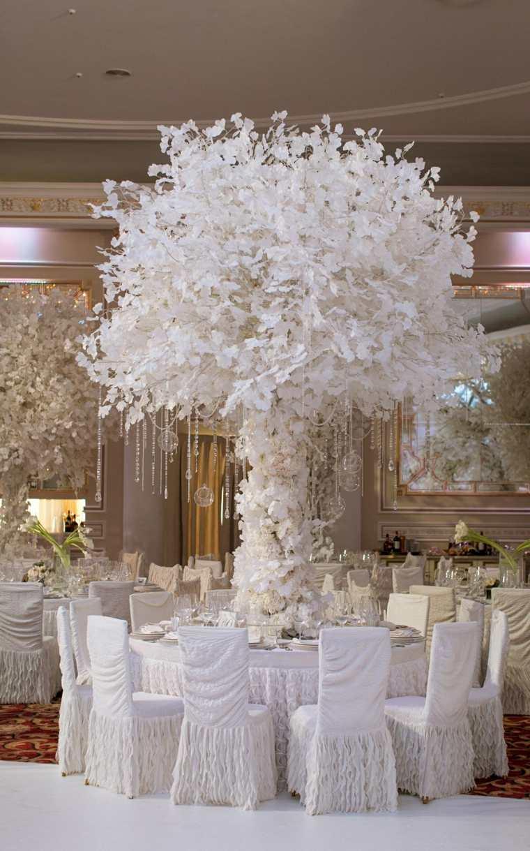 Bodas originales en invierno la belleza en blanco - Decoracion de bodas originales ...