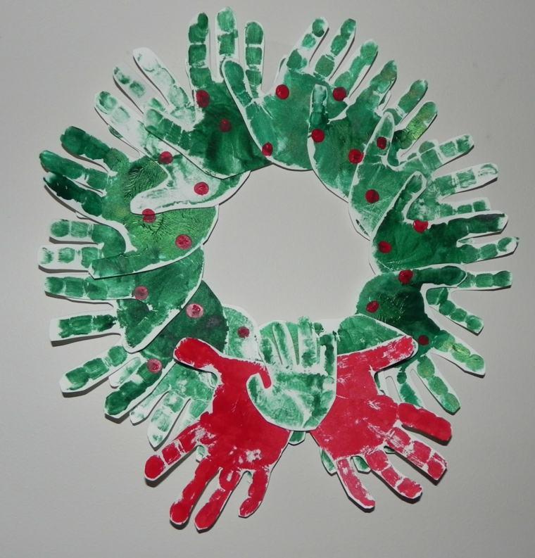 Decoracion Navidena Para Ninos Y Padres - Decoracion-navidea-facil-de-hacer