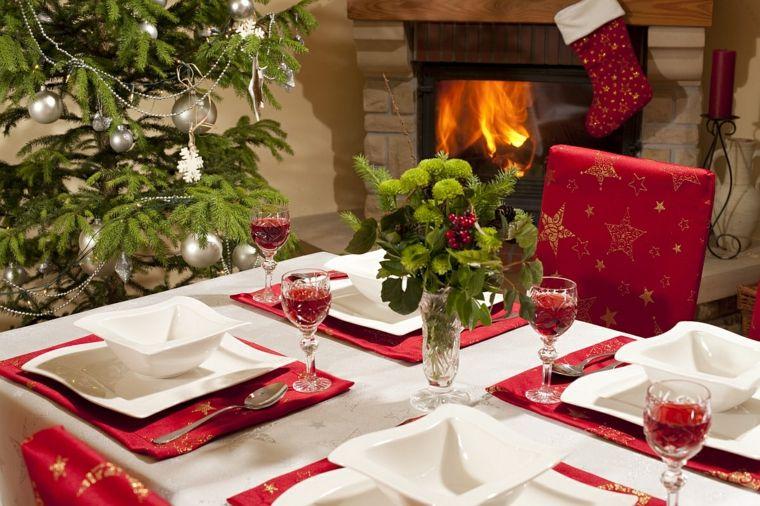 decoracion navidena mesa cena navidad ideas