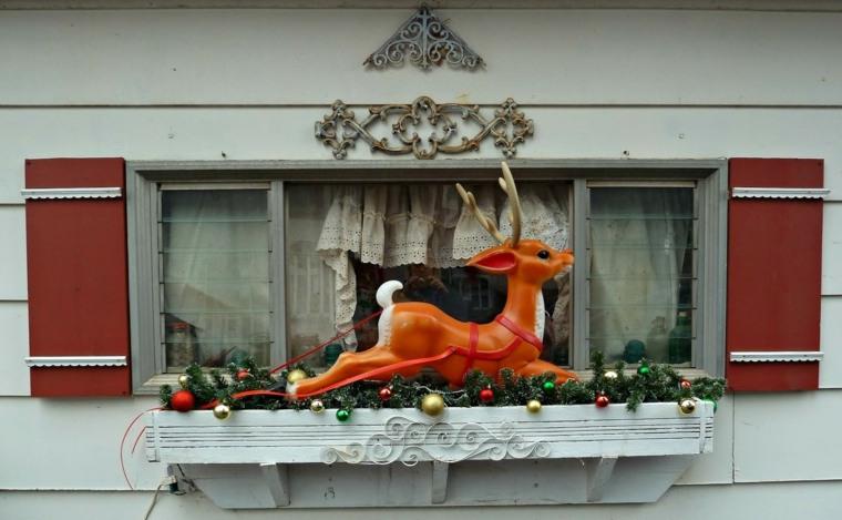 decoración navideña para exteriores