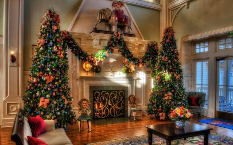 Decoracion De Arboles De Navidad Para El Interior - Decoracion-navidea-interiores
