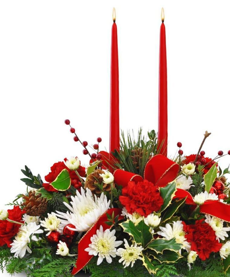 decoración para navidad blanco