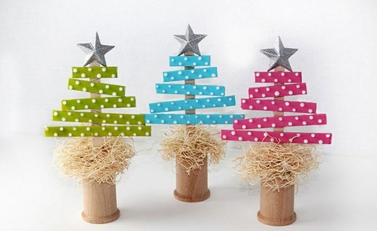 unas con tapas de corcho para hacer rboles de navidad decoracin para nios recibir navidad