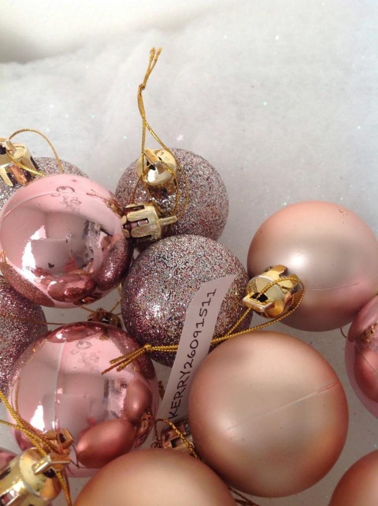 decoraciones de navidad cobre