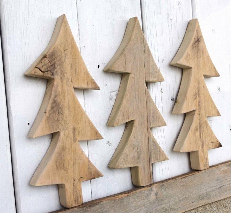 decoraciones en madera navidad