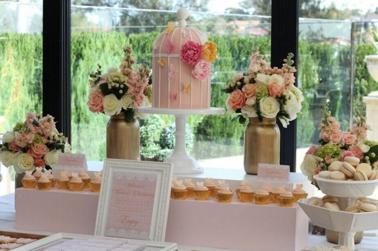 decoraciones florales para bodas interior
