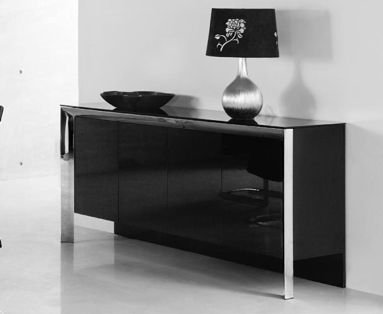 Artesanato Mdf Florianopolis ~ Decorar aparador para un interior moderno