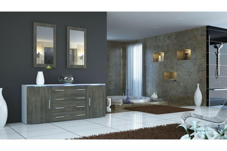 Decorar aparador para un interior moderno - Aparadores de salon ...
