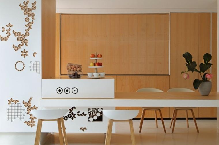decoraapartamento pequeno cocina armarios josep rua spatial designer ideas