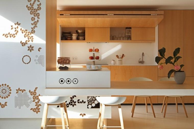 decorar apartamento pequeno cocina barra josep rua spatial designer ideas