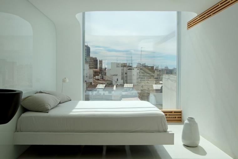 decorar apartamento pequeno dormitorio ventana josep rua spatial designer ideas