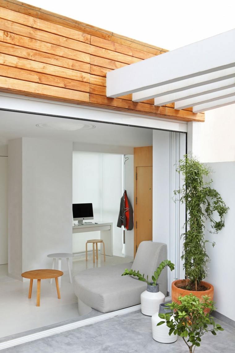 decorar apartamento pequeno entrada josep rua spatial designer ideas
