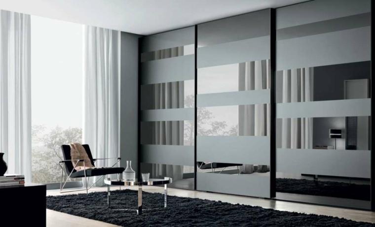 Decorar armarios empotrados modernos - Armarios con espejo para dormitorio ...