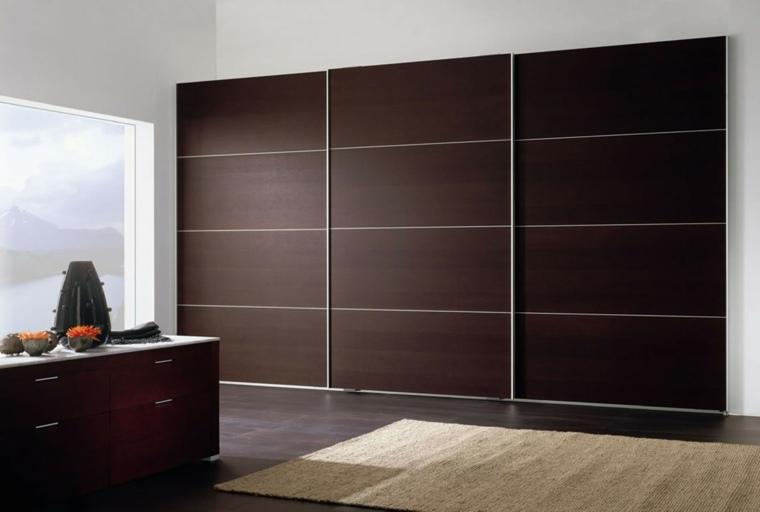 un armario empotrado muy elegante para vuestro dormitorio
