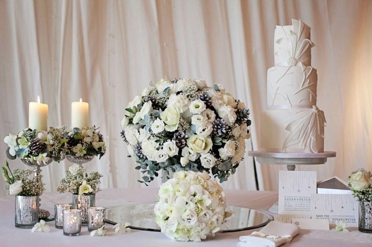 decorar boda flores blancas opciones ideas