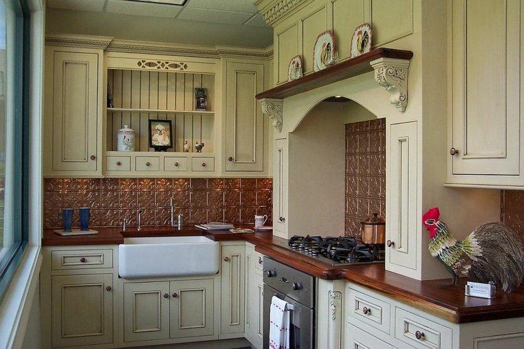 decorar cocina cobre