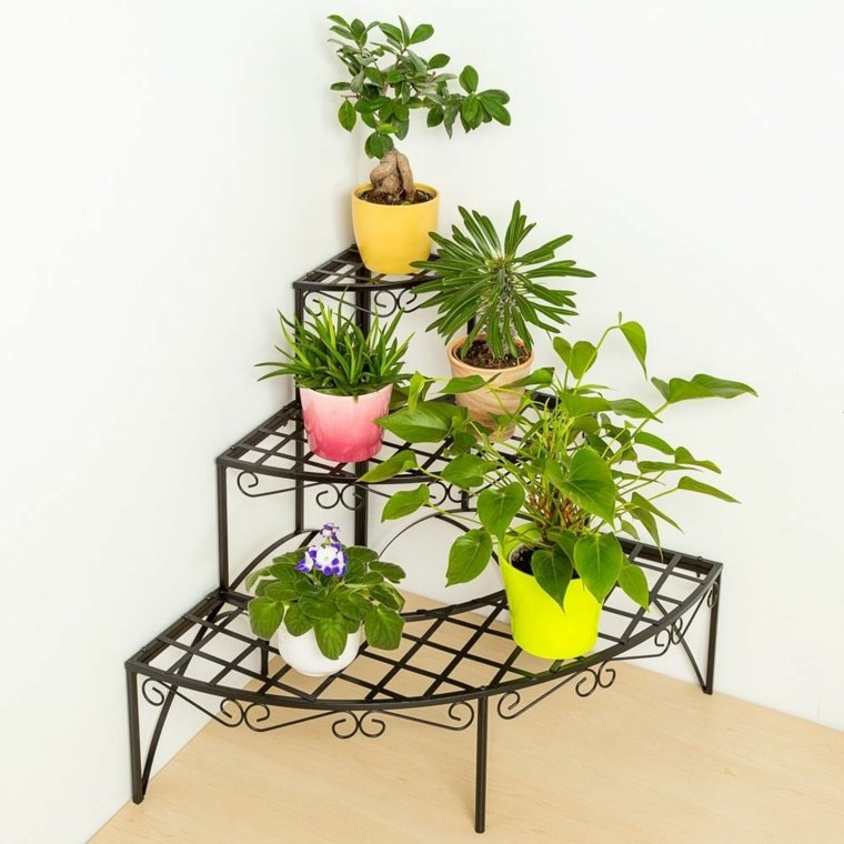 decorar con macetas ideas para decorar macetas. Black Bedroom Furniture Sets. Home Design Ideas