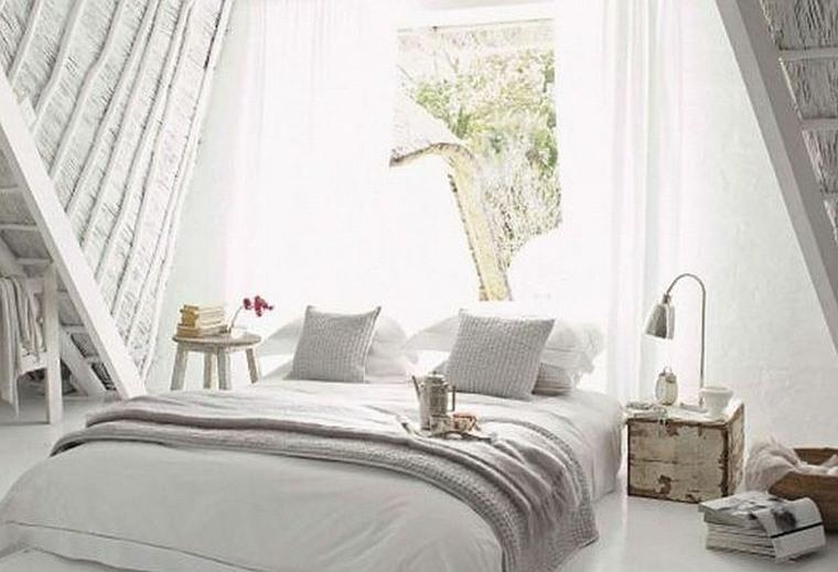 decorar dormitorio blanco