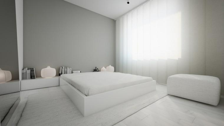 décoration de la chambre principale design minimaliste gris oporski architecture ideas