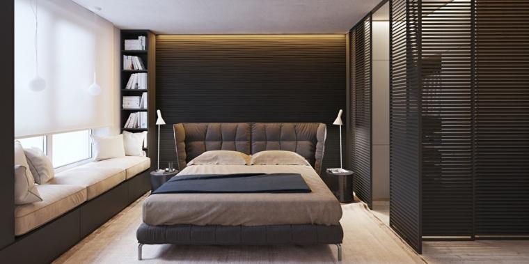 decorar dormitorio principal diseno minimalista moderno ideas