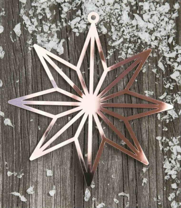 decorar la casa en navidad cobre