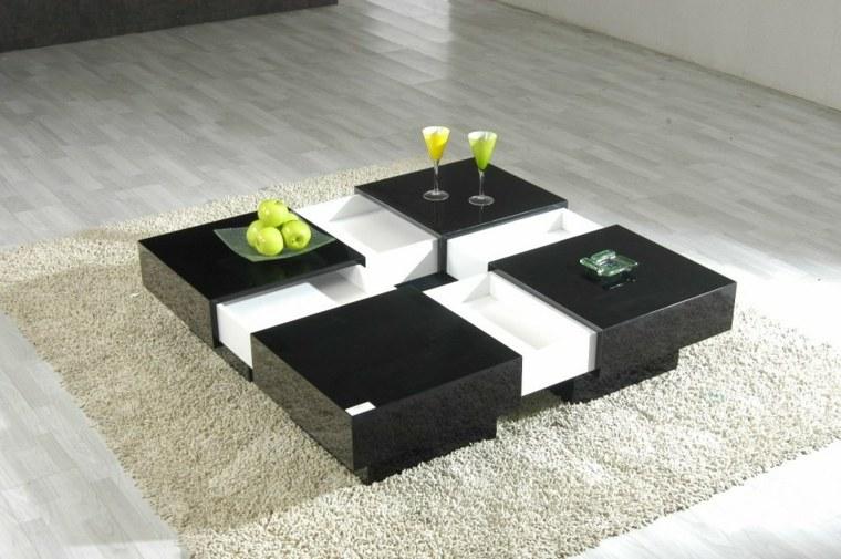 decorar mesa de centro moderna