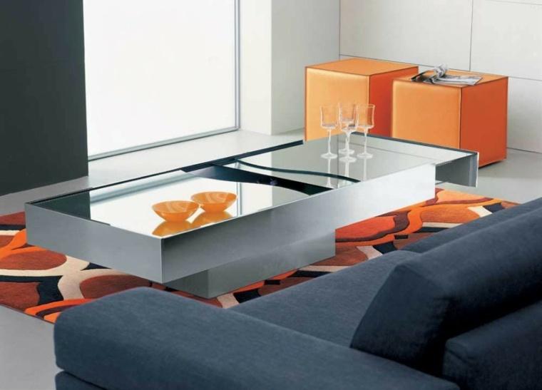 decorar mesas de centro modernas interior