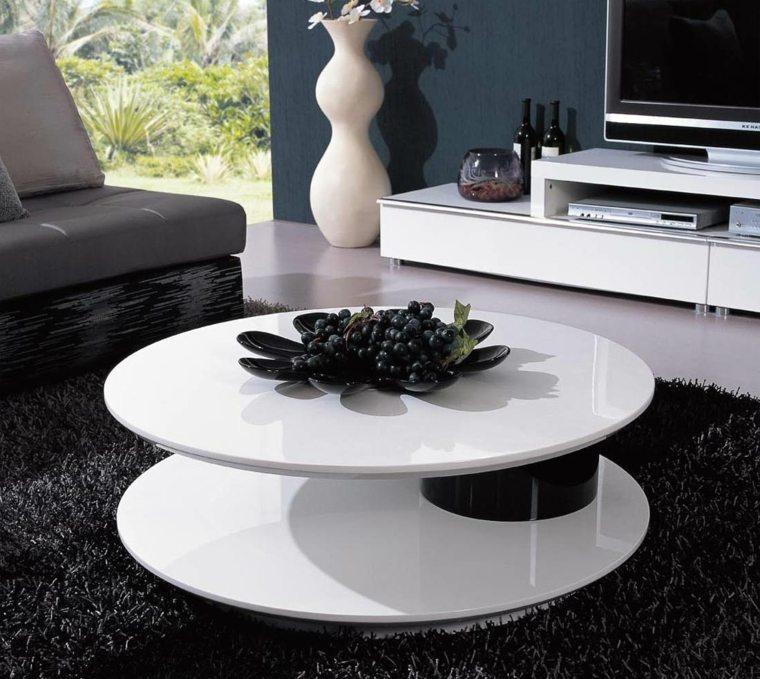 decorar mesas de centro modernas sala de estar