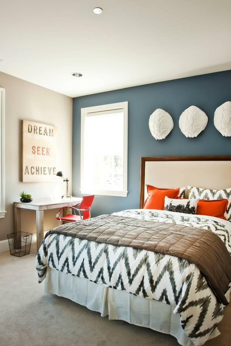 decorar paredes diseno especiales contrastes