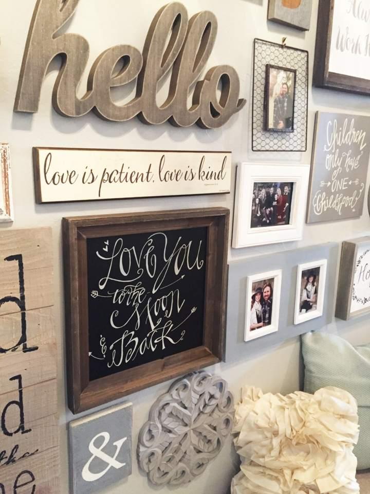 Decorar paredes fotos y las mejores maneras de colocarlas