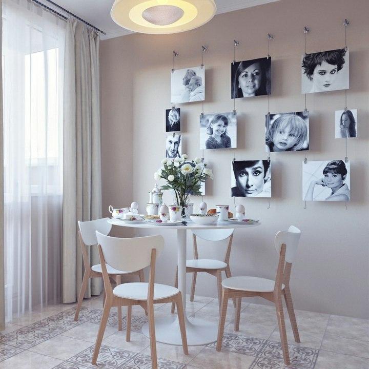 Decorar paredes fotos y las mejores maneras de colocarlas - Decoracion paredes con fotos ...