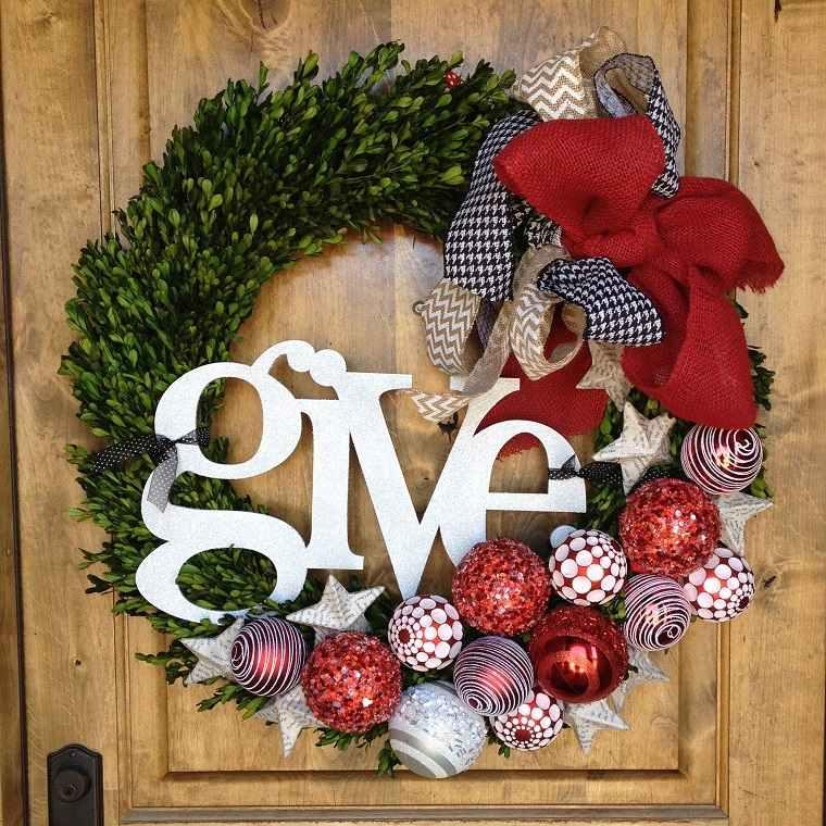 decorar puertas navidad diseno bellas opciones ideas