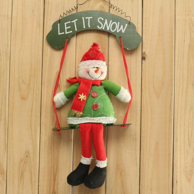 decorar puertas navidad opciones muneco peluche ideas