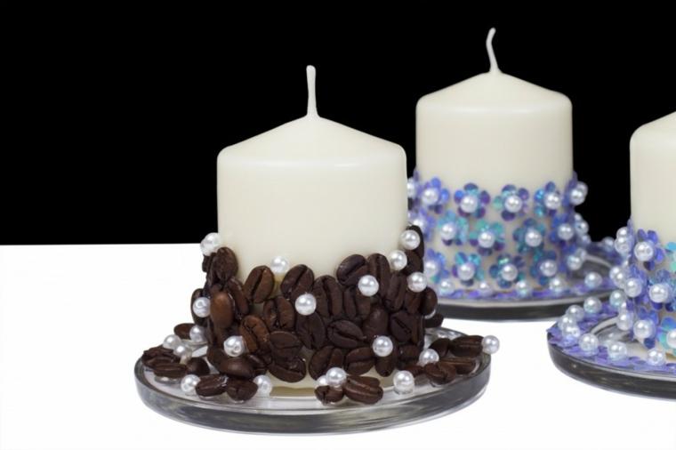 Decorar Velas Para Dar Un Toque Original Al Interior - Como-decorar-una-vela