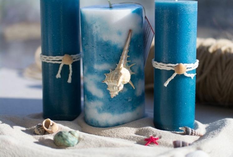 decorar velas marineras