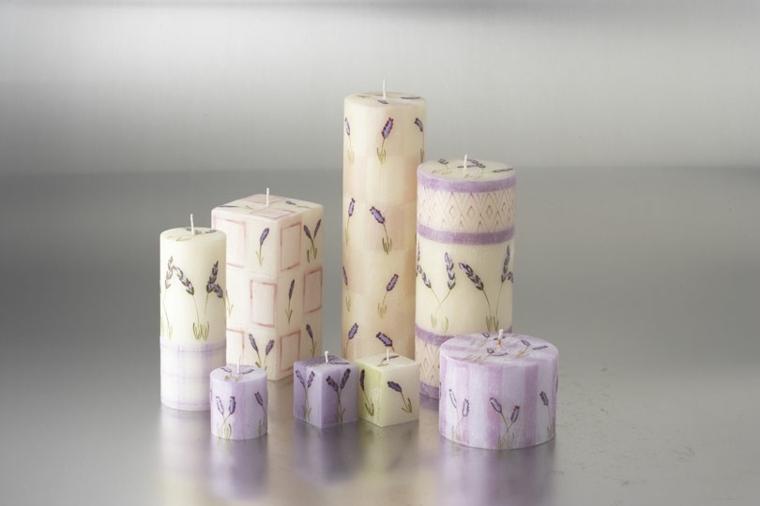 decorar velas originales