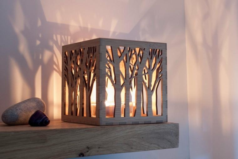 decoraciones en madera