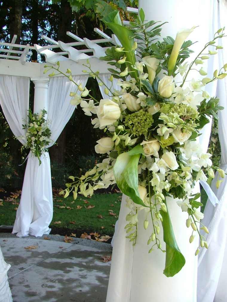 detalles florales para bodas decorar