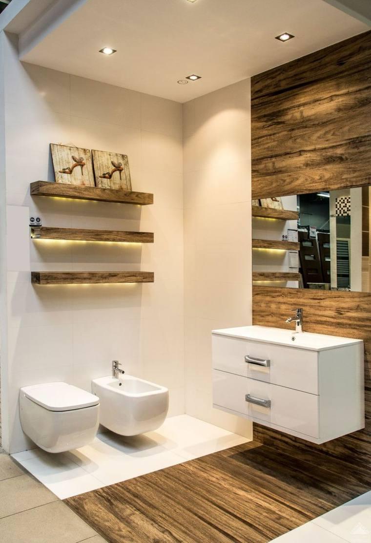 Dise o de ba os con iluminaci n escondida for Home design e decoro