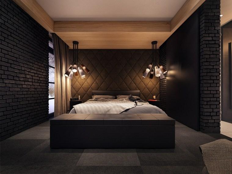 diseño de habitaciones oscuras