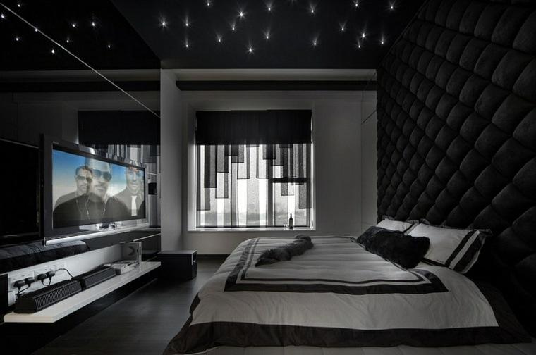 diseño de interiores negros