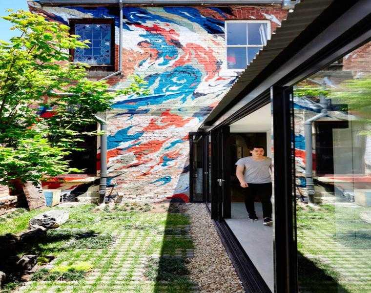 diseno fachada grafiti colores