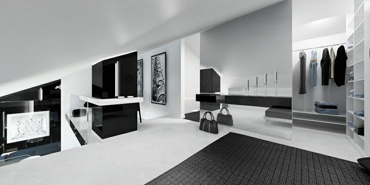 diseño interiores negros