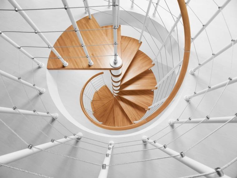 diseno escaleras de caracol moderna
