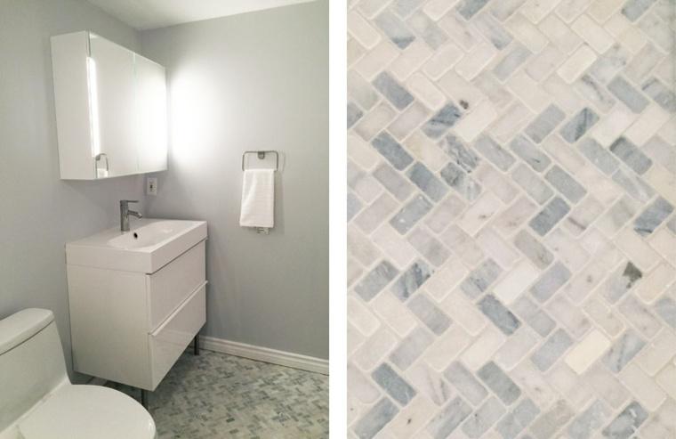diseño azulejos de cuarto baño