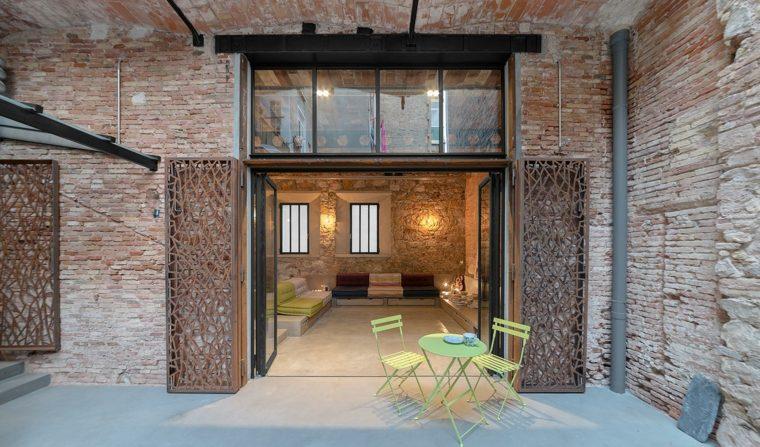 diseño porche moderno terraza