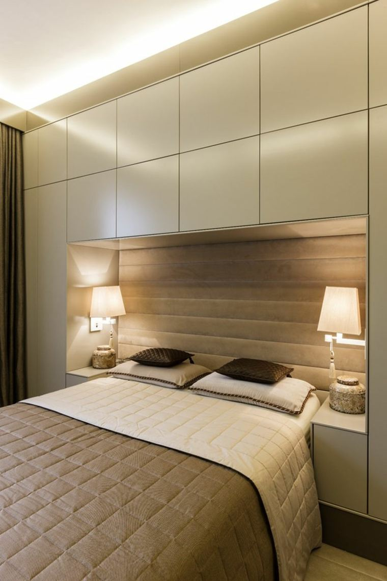 Camas modernas con muebles incorporados - Disenos de camas ...