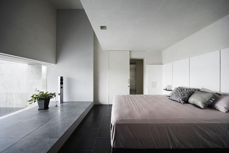 dormitorio-diseno-simple-kouichi-kimura-architects