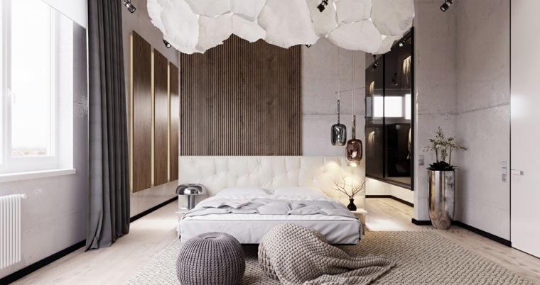 dormitorio minimalista amplio luminoso vlad kislenko ideas