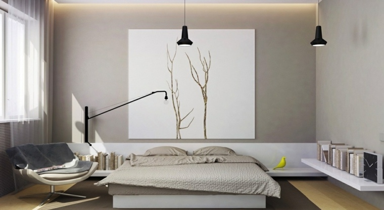 dormitorio minimalista colores neutrales design kolo ideas